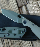 Strider SnG Tanto PD1 Cerakote Concealed Carry