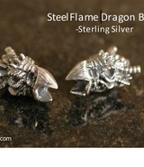 SteelFlame Dragon Bead
