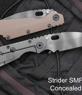 Strider SMF Tanto Concealed Carry