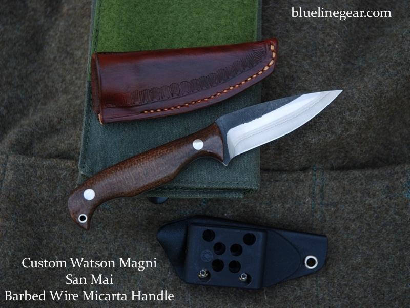 Blue line gear product details watson magni micarta